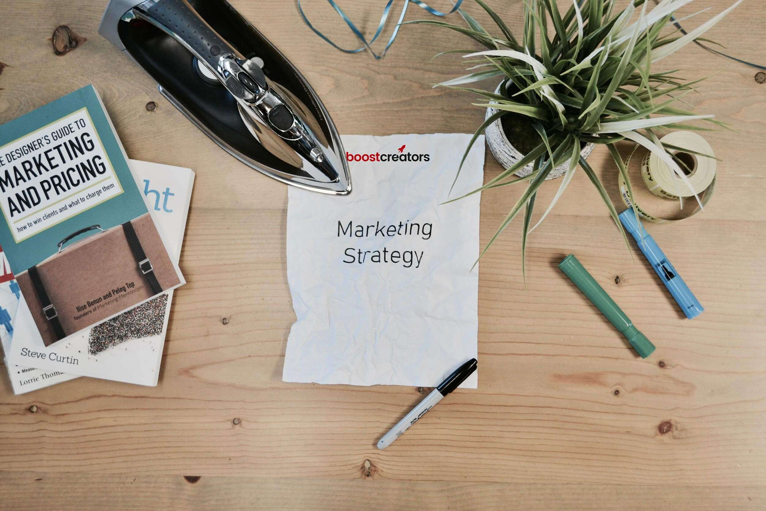 Boost Creators Offline marketing strategie